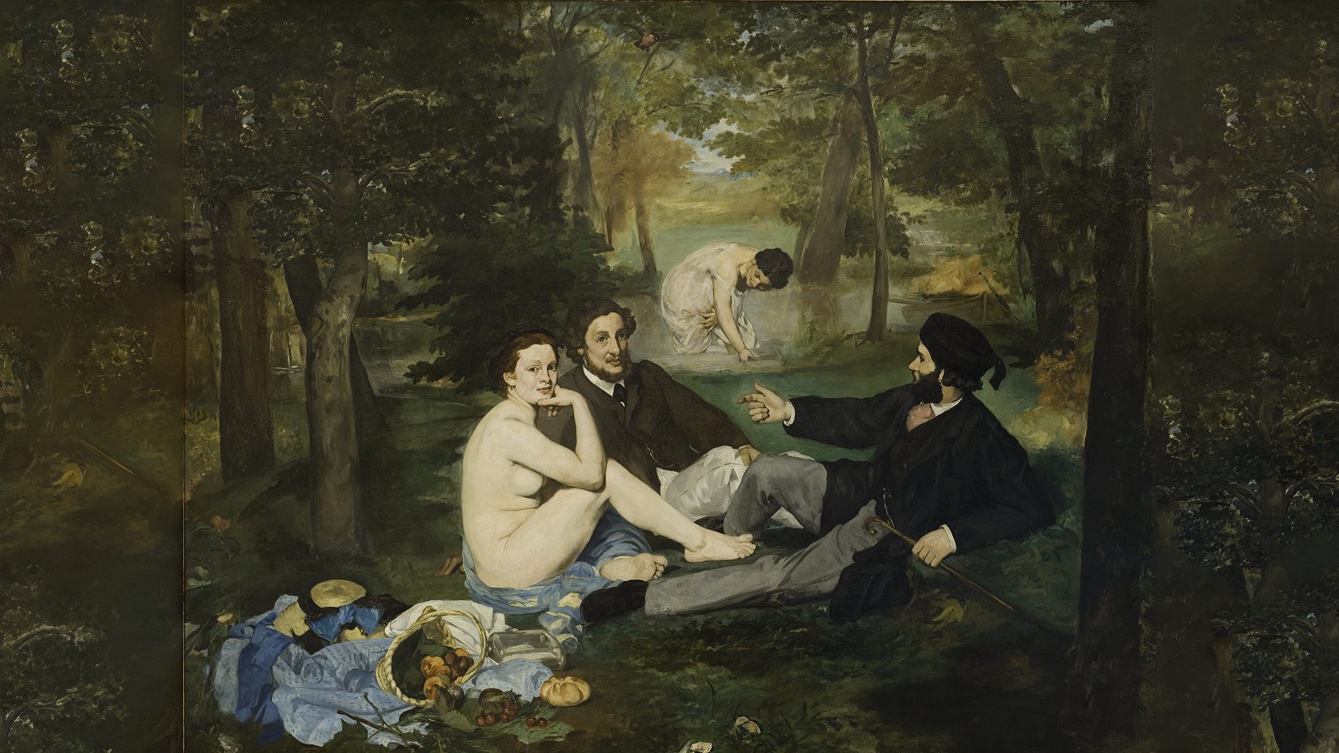 What Michelangelo, Raphael and Manet have in common.