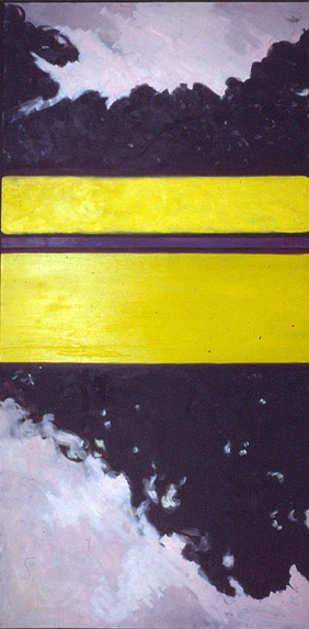 Pink, yellow and purple, 1987, oil on canvas ©2011, PPCD, LLC