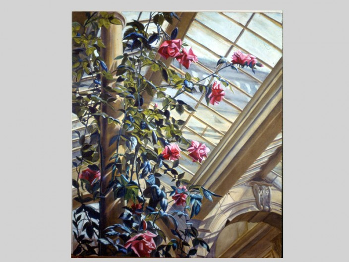 Roses in winter, Oil on canvas, 1989, 2011, PPCD, LLC