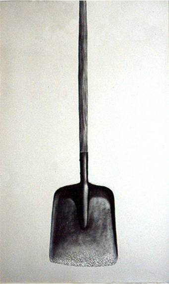 Shovel, pencil, charcoal 1999 ©2011, PPCD, LLC
