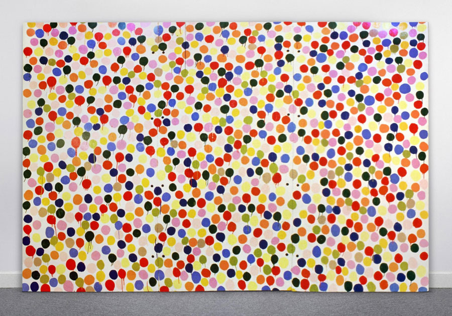 Damien Hirst 'pops' the art bubble. Thank you, Roberta Smith!
