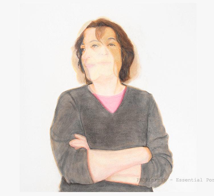 "Sheryl, Pastel on paper, 40"" x 30"""