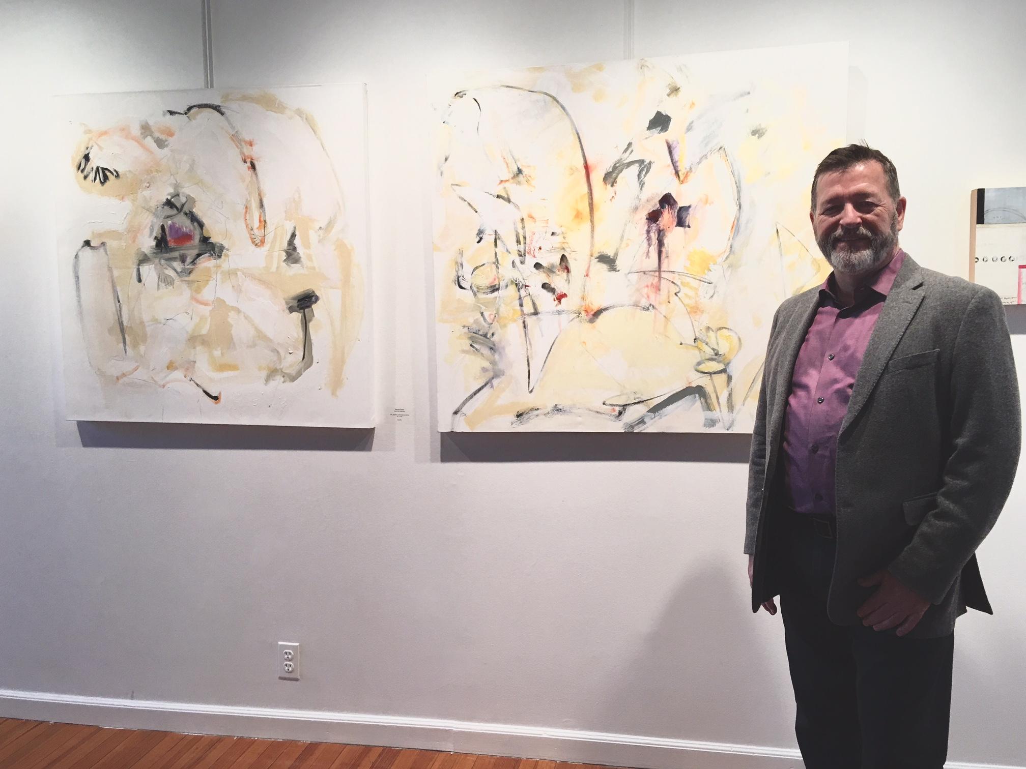 Paul XO Pinkman with Sacré-Cœur  and Golgatha on exhibit, 2017