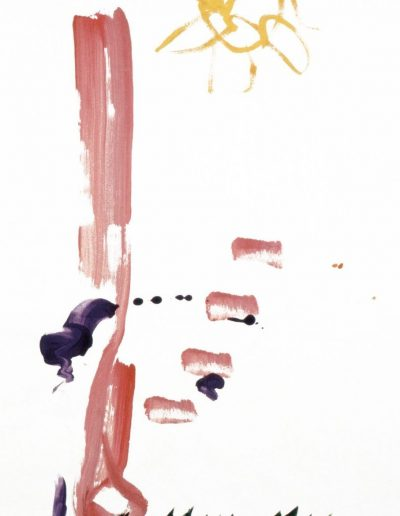 The Radiant I: Paul Edward Pinkman. Tempera on paper. 48x24